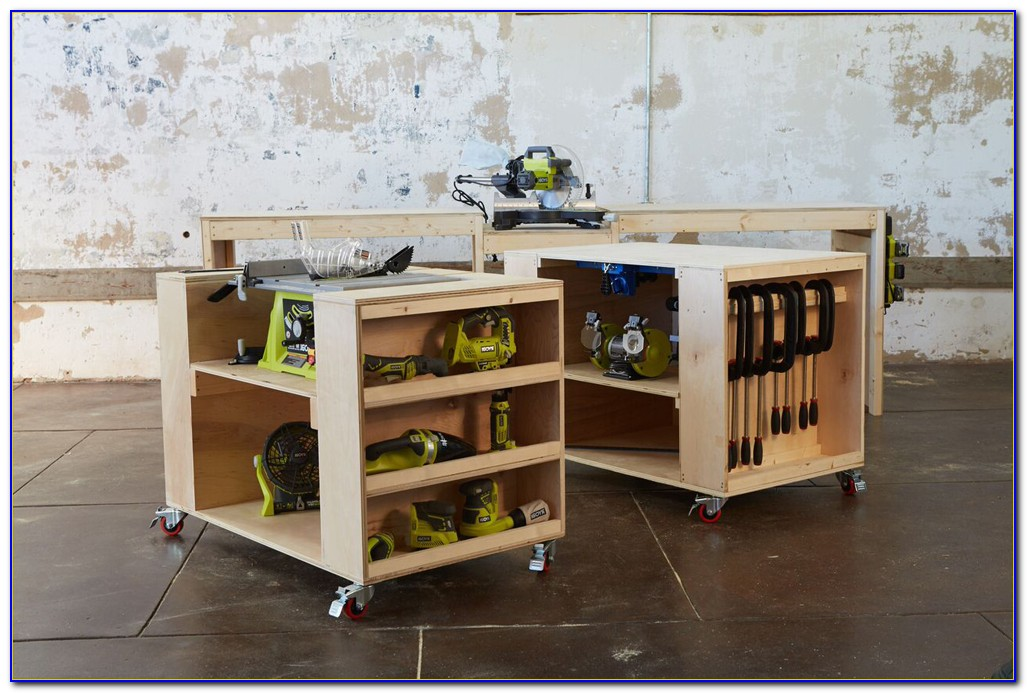 Workbench Plans With Storage