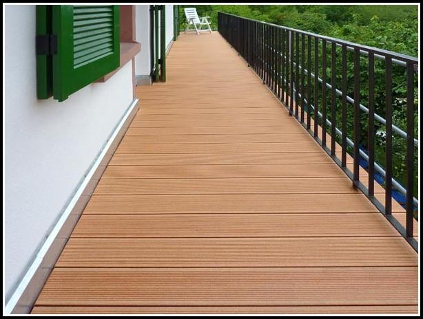 Wpc Balkon Dielen Unterkonstruktion