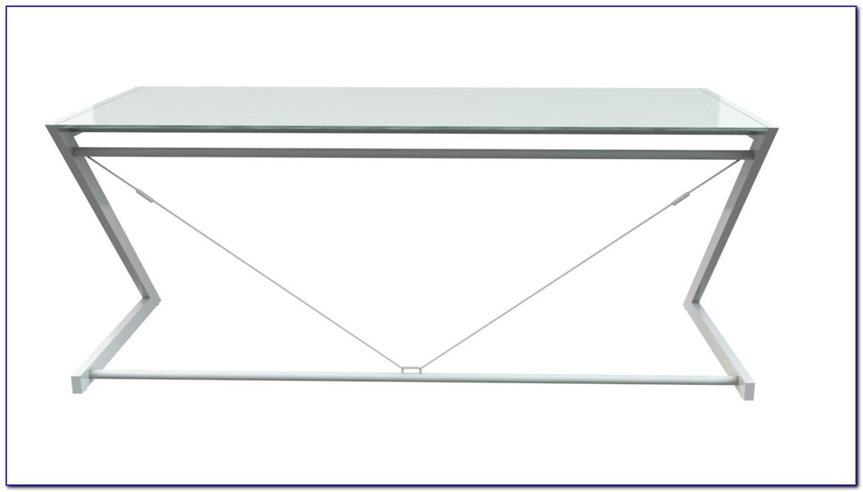 Z Line Schreibtisch Glas