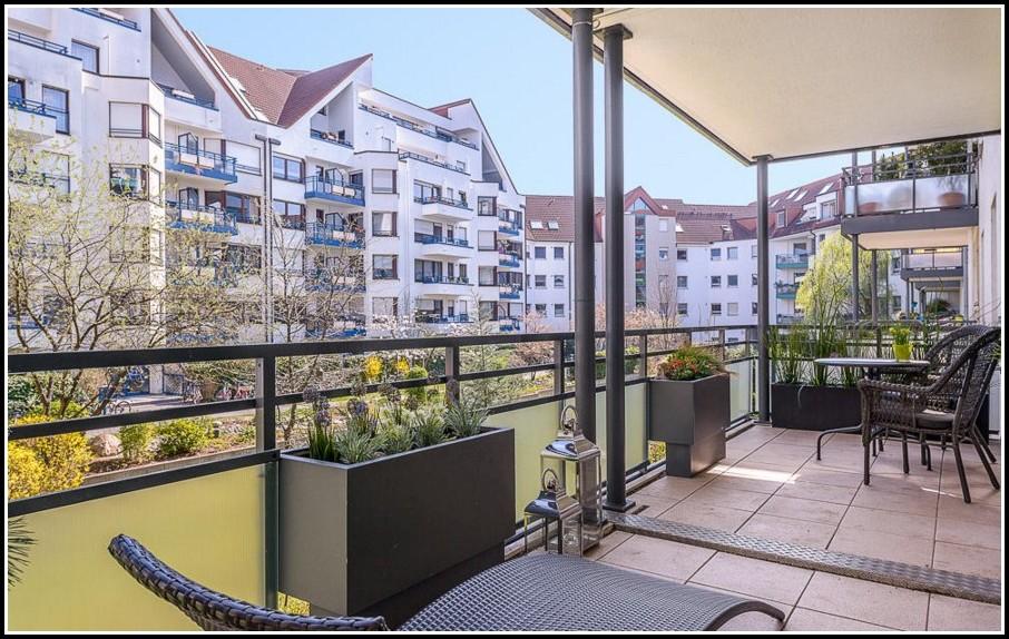 Zen Garten Auf Dem Balkon