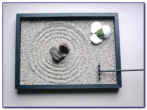 Zen Garten Schreibtisch