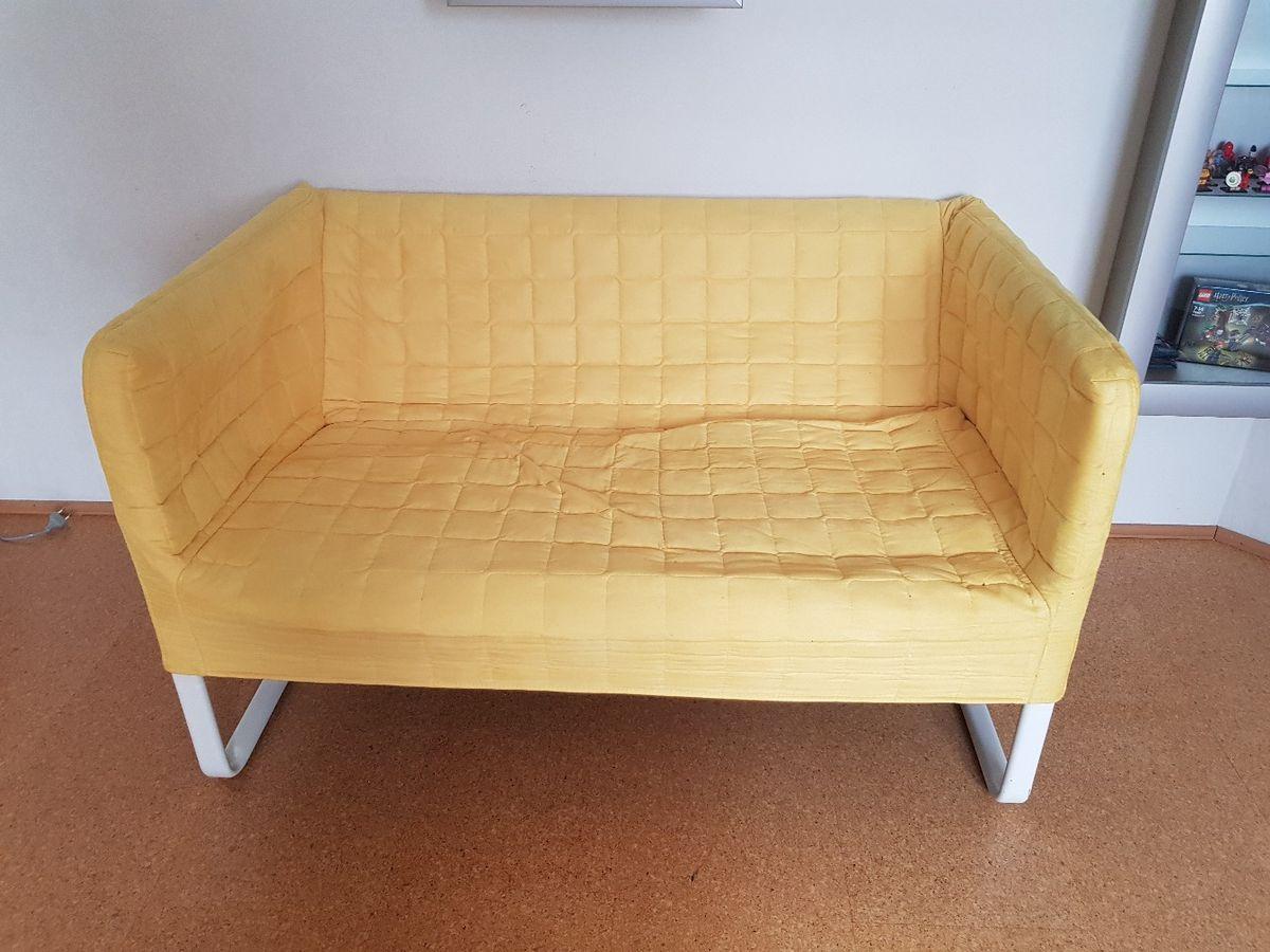 Beige Ikea 2er Sofa