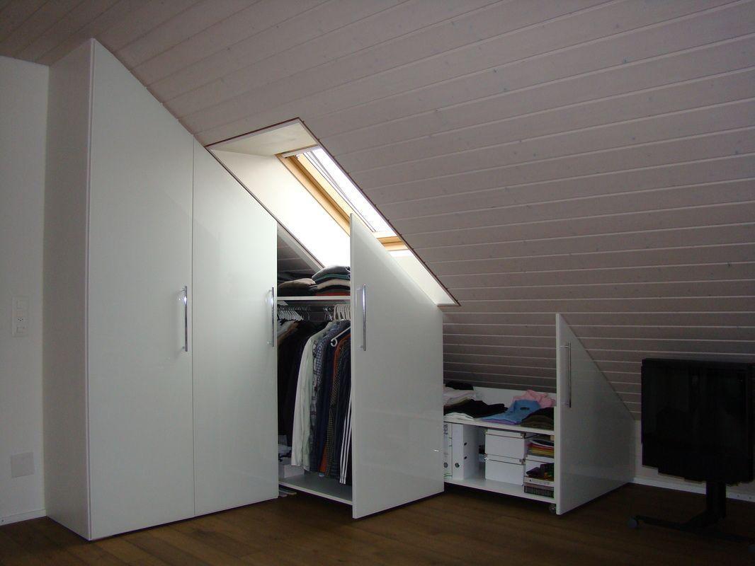 Einbauschrank Dachschräge Ikea