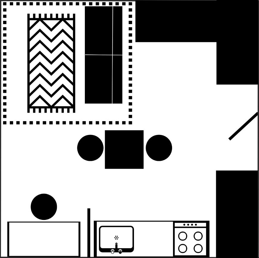 Grundriss Quadratisches Wohnzimmer Einrichten