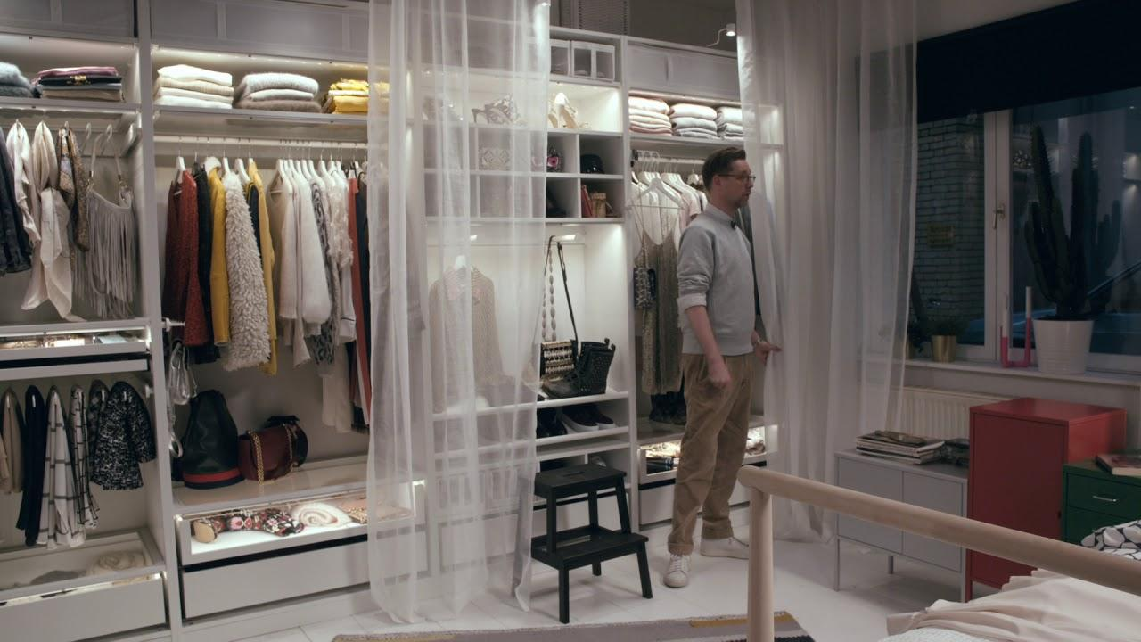 Ikea Begehbarer Kleiderschrank System