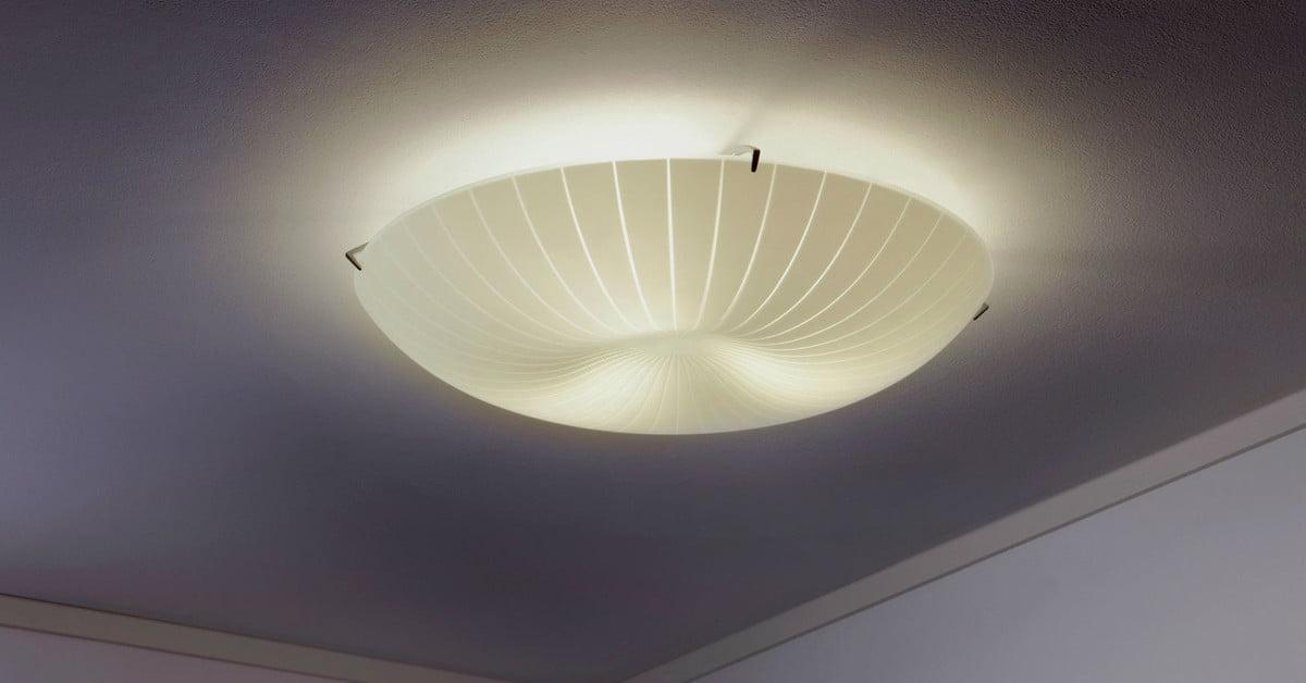 Ikea Deckenlampe Glas