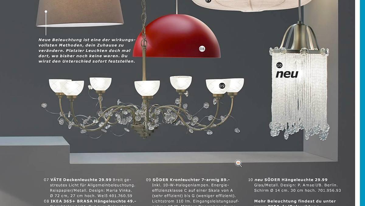 Ikea Kronleuchter Weiß