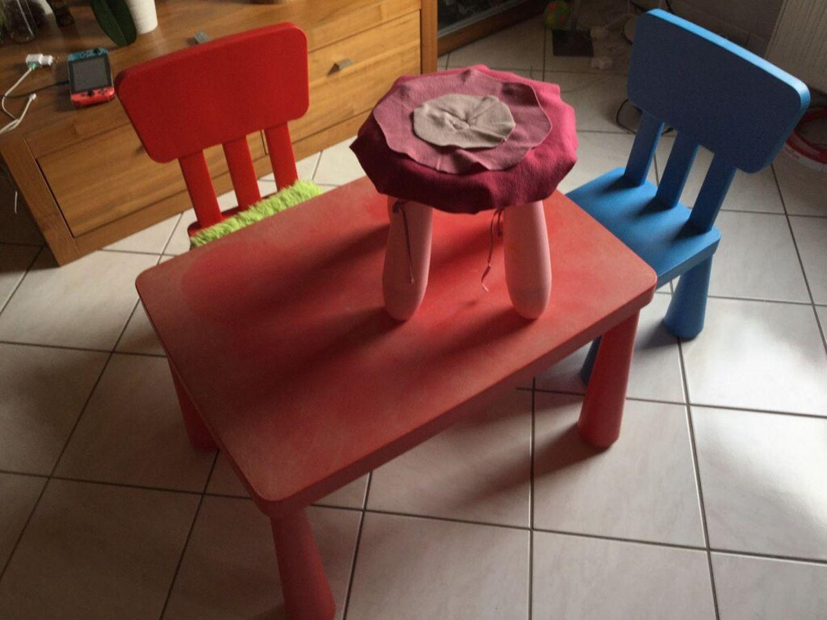Ikea Mammut Tisch Und Stühle Gebraucht