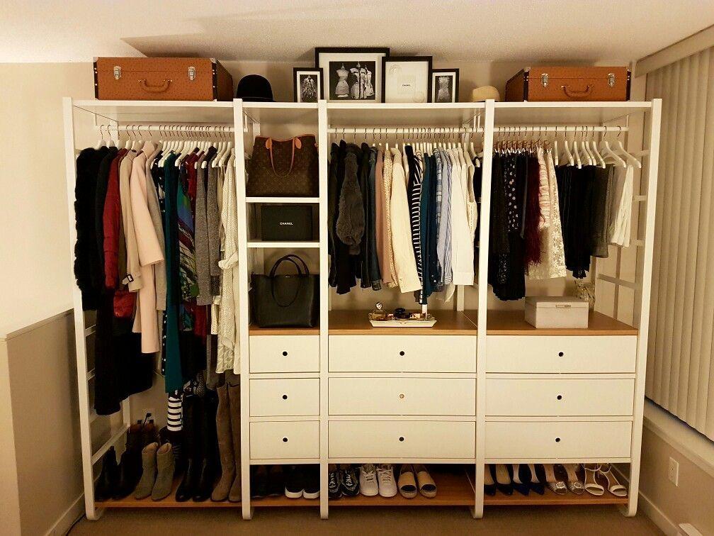 Ikea Offener Kleiderschrank Holz