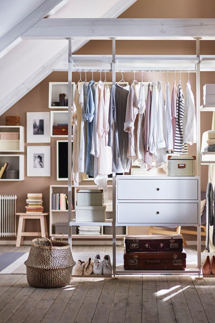 Ikea Offener Kleiderschrank System