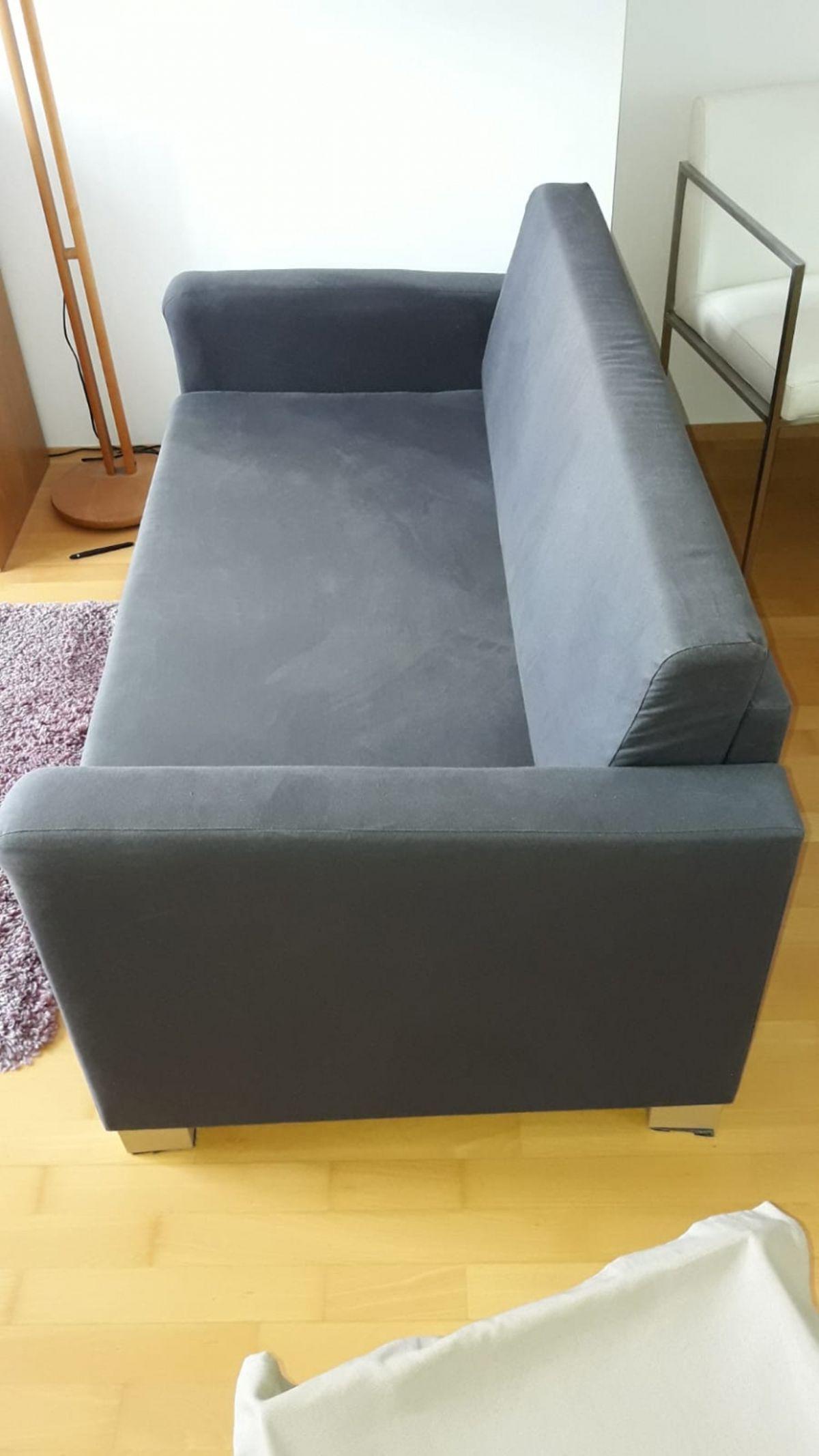 Ikea Sofa Grau Mit Schlaffunktion