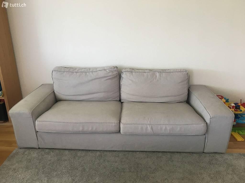 Ikea Sofa Weiß 3er