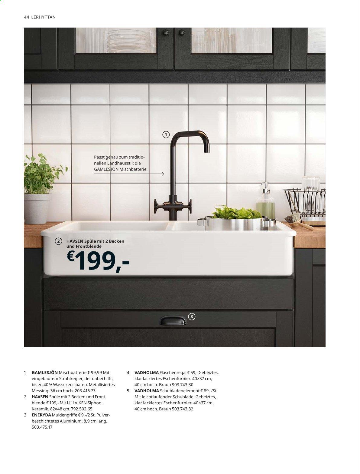 Ikea Spüle Havsen
