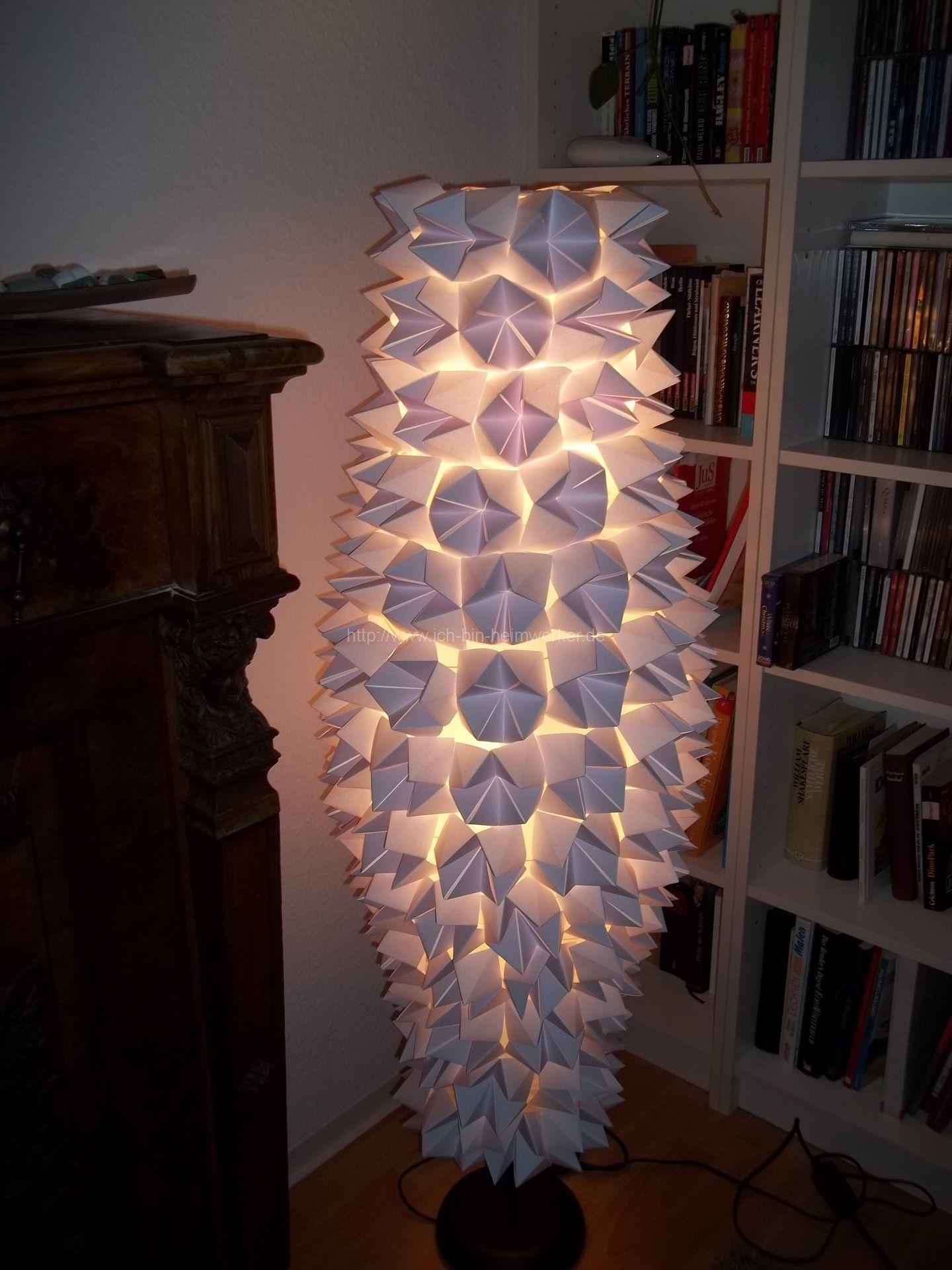 Lampenschirm Ikea Papier