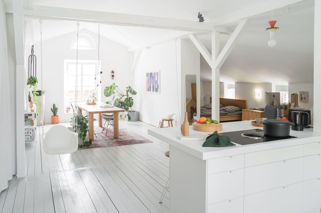 Offene Küche Mit Wohnzimmer Gestalten