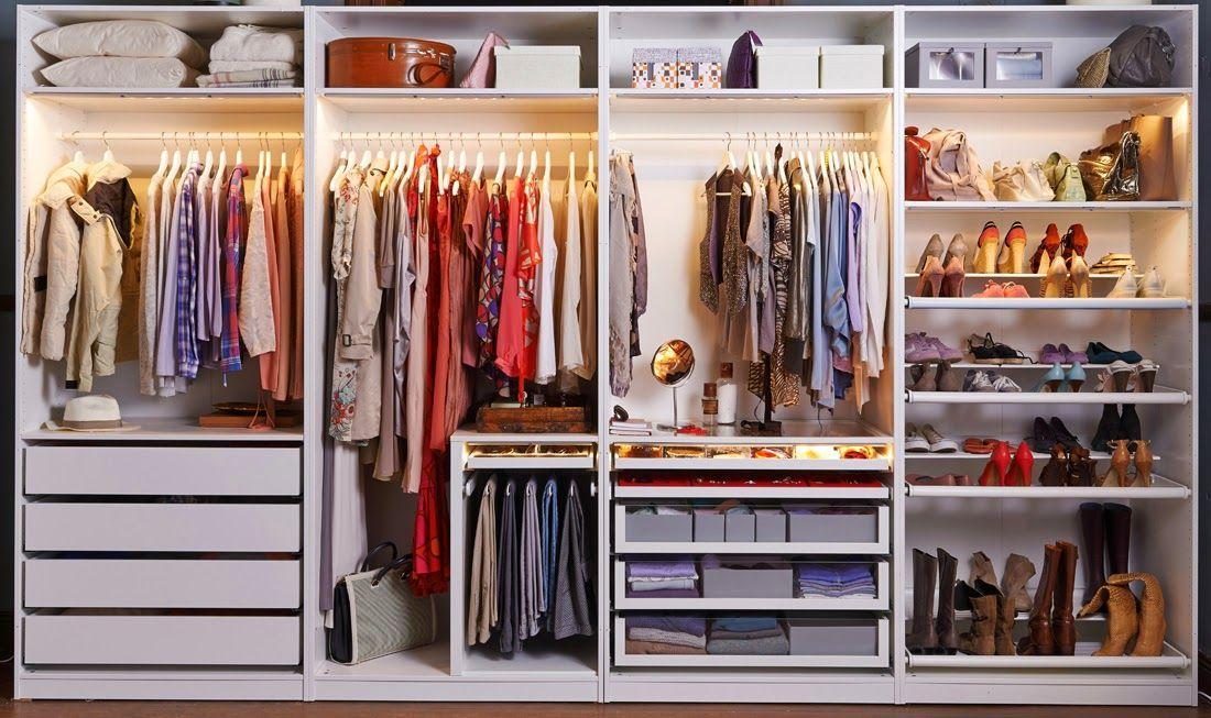 Offener Kleiderschrank Ikea Ideen