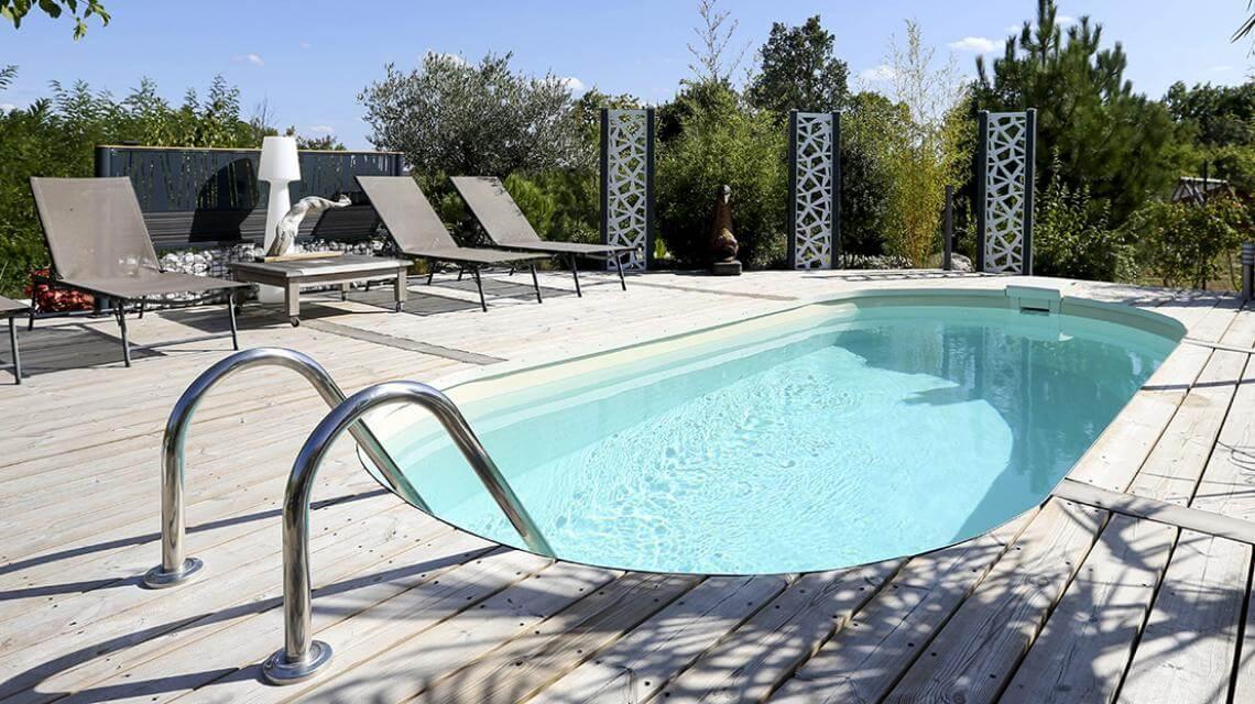 Poolgestaltung Kleiner Garten Mit Pool Gestalten