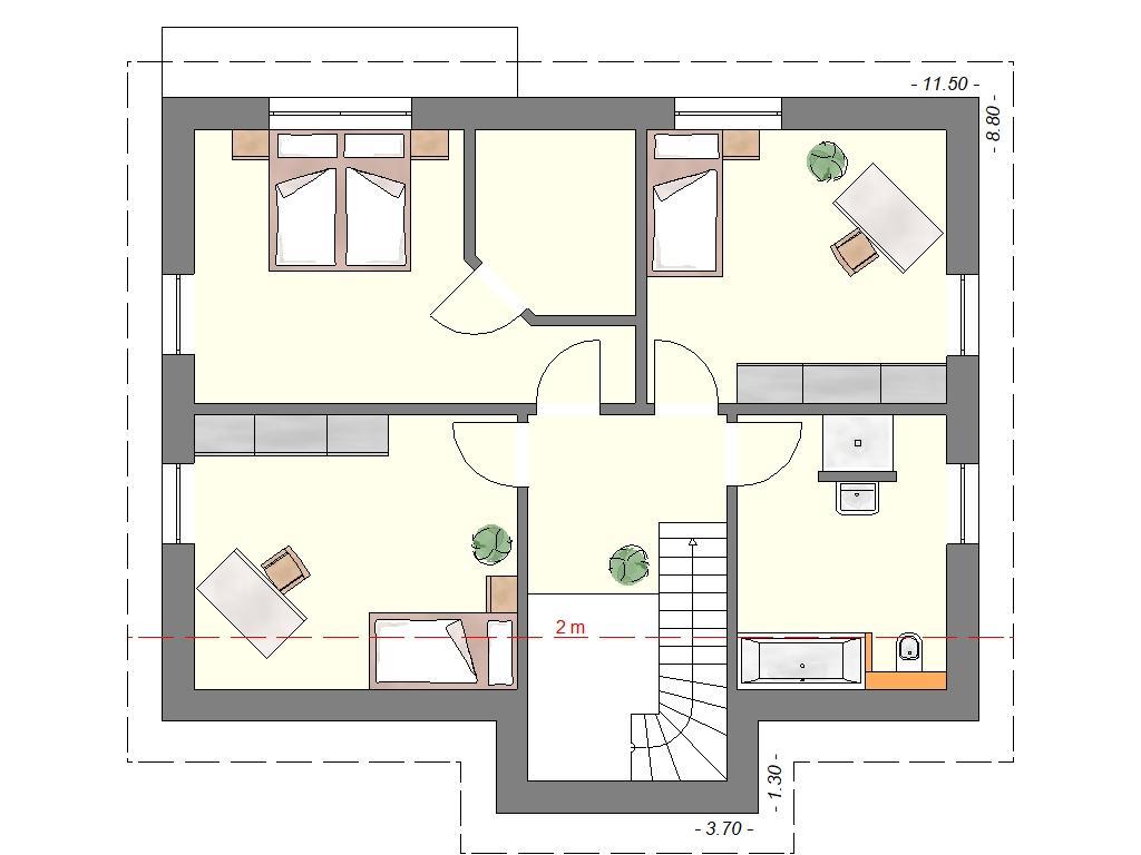 Schlafzimmer Mit Ankleide Und Bad Grundriss