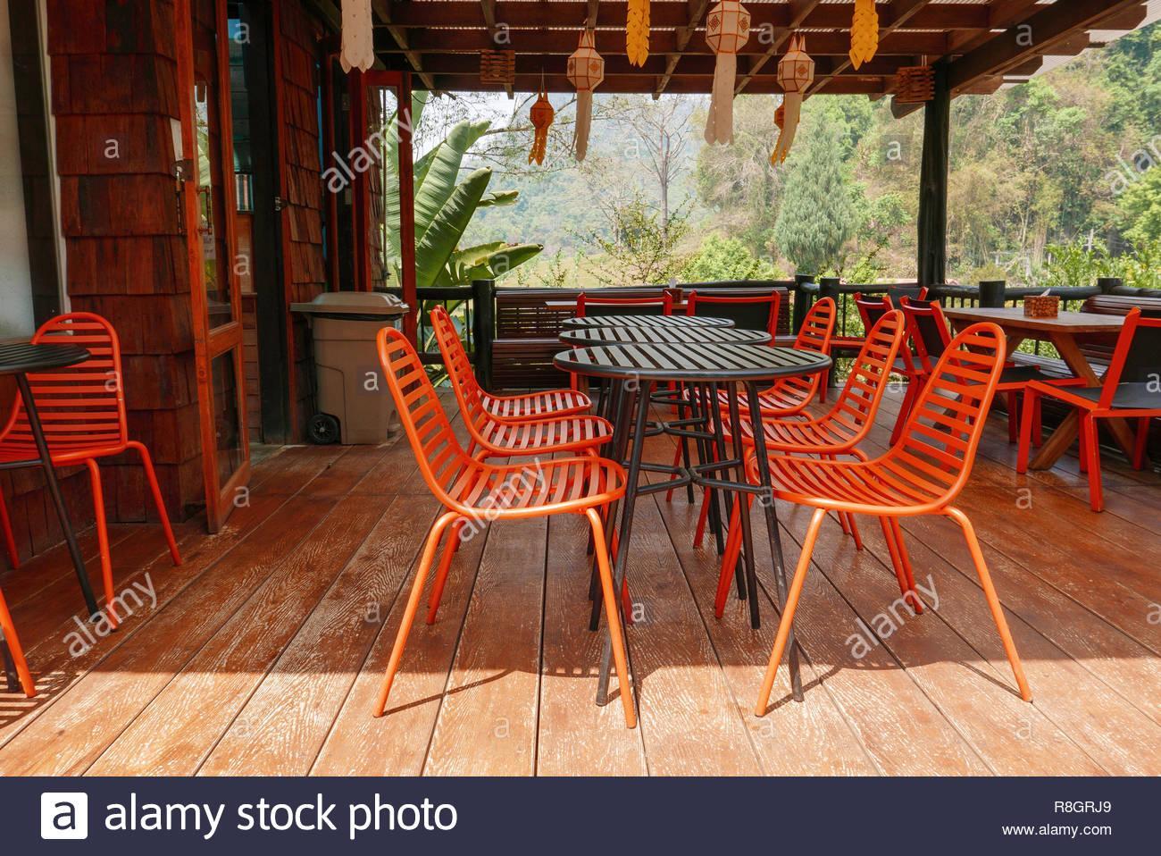 Stühle Und Tische Für Gastronomie Terrasse