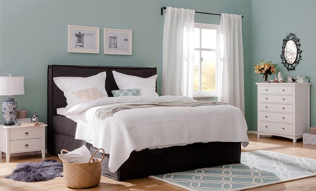 Weißes Schlafzimmer Gemütlich Gestalten