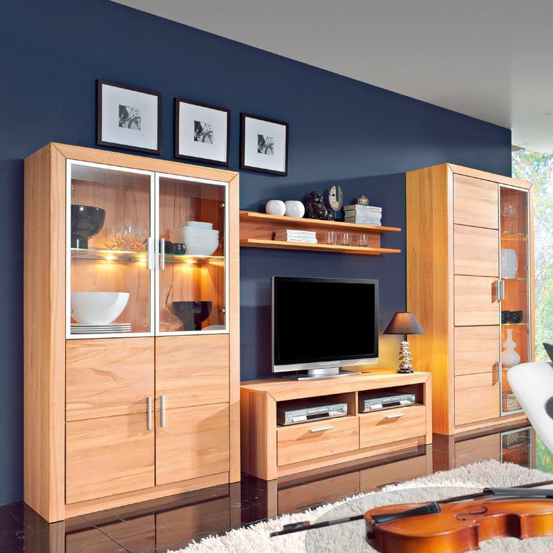 Wohnzimmer Schrankwand Segmüller