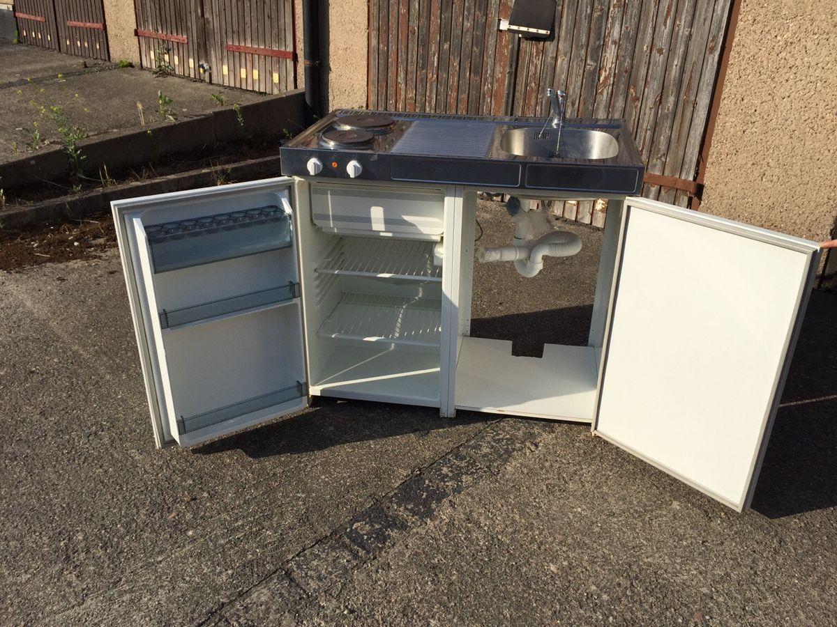 100 Cm Singleküche Mit Kühlschrank