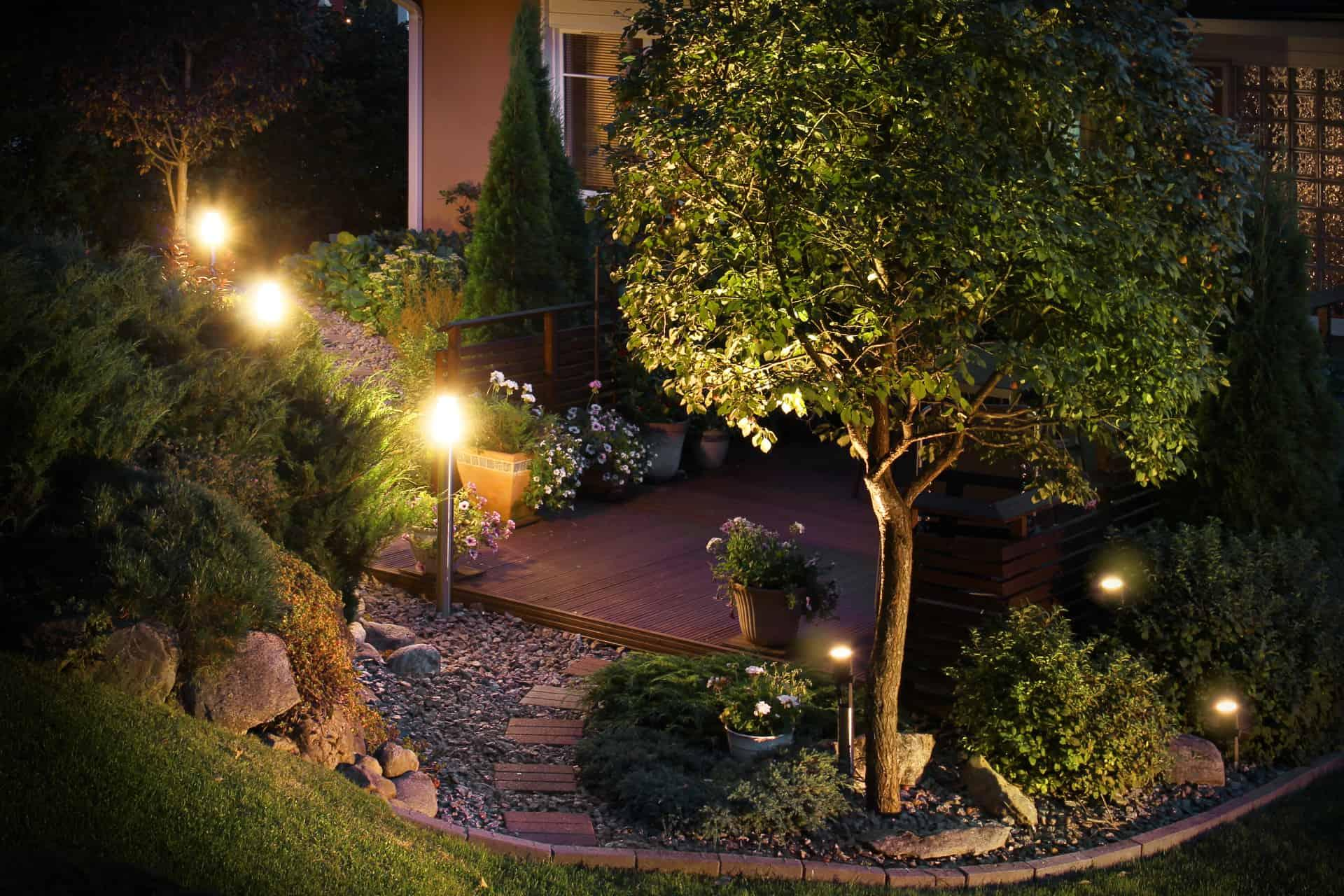 12v Lampen Gartenhaus