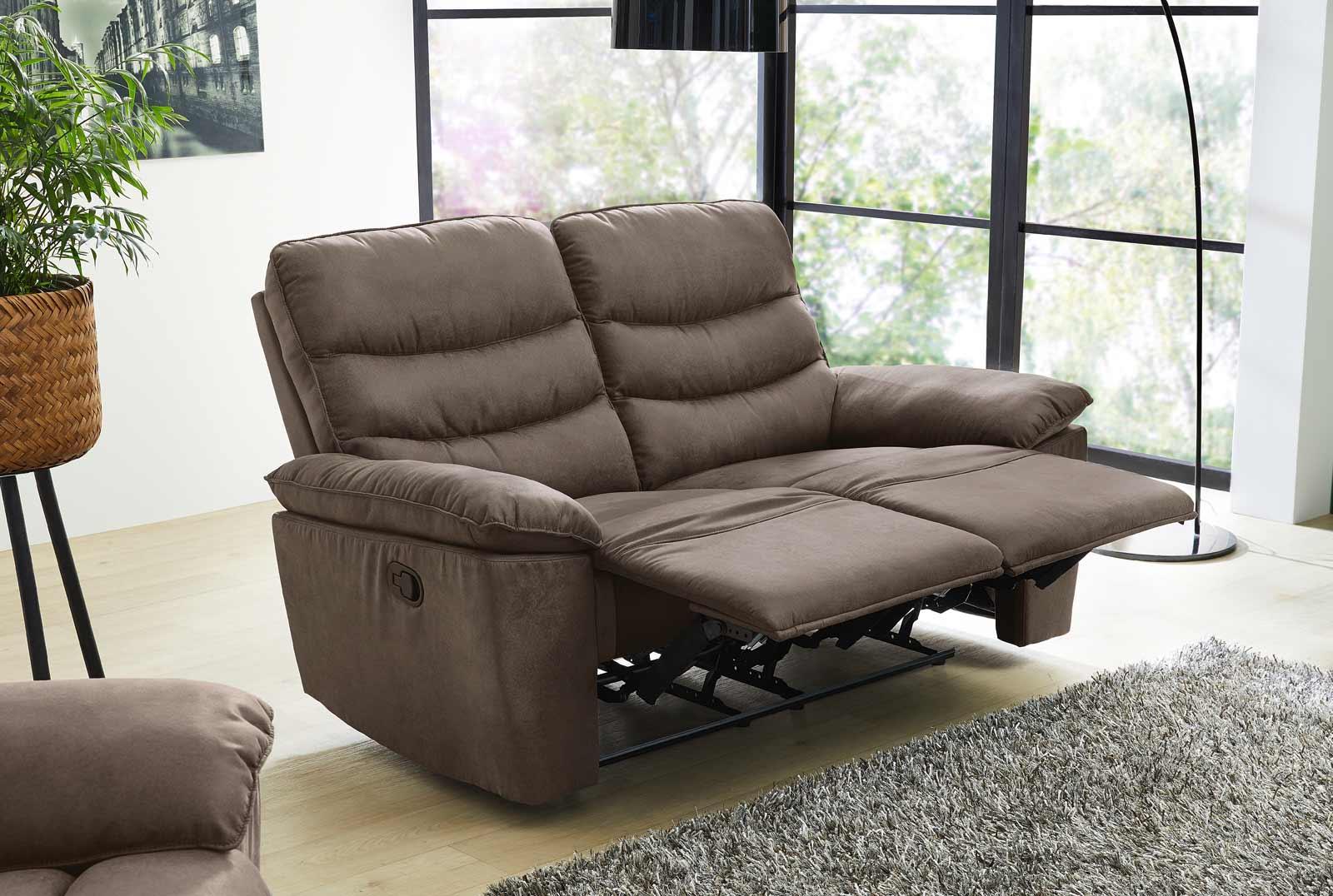 2 Sitzer Sofa Mit Liegefunktion