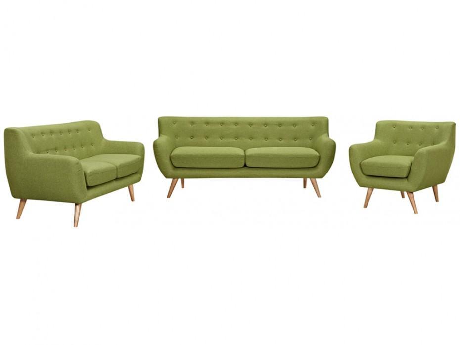 3 Sitzer Sofa Grün
