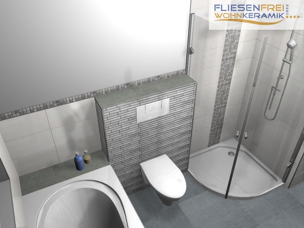 3d Badezimmer Fliesen