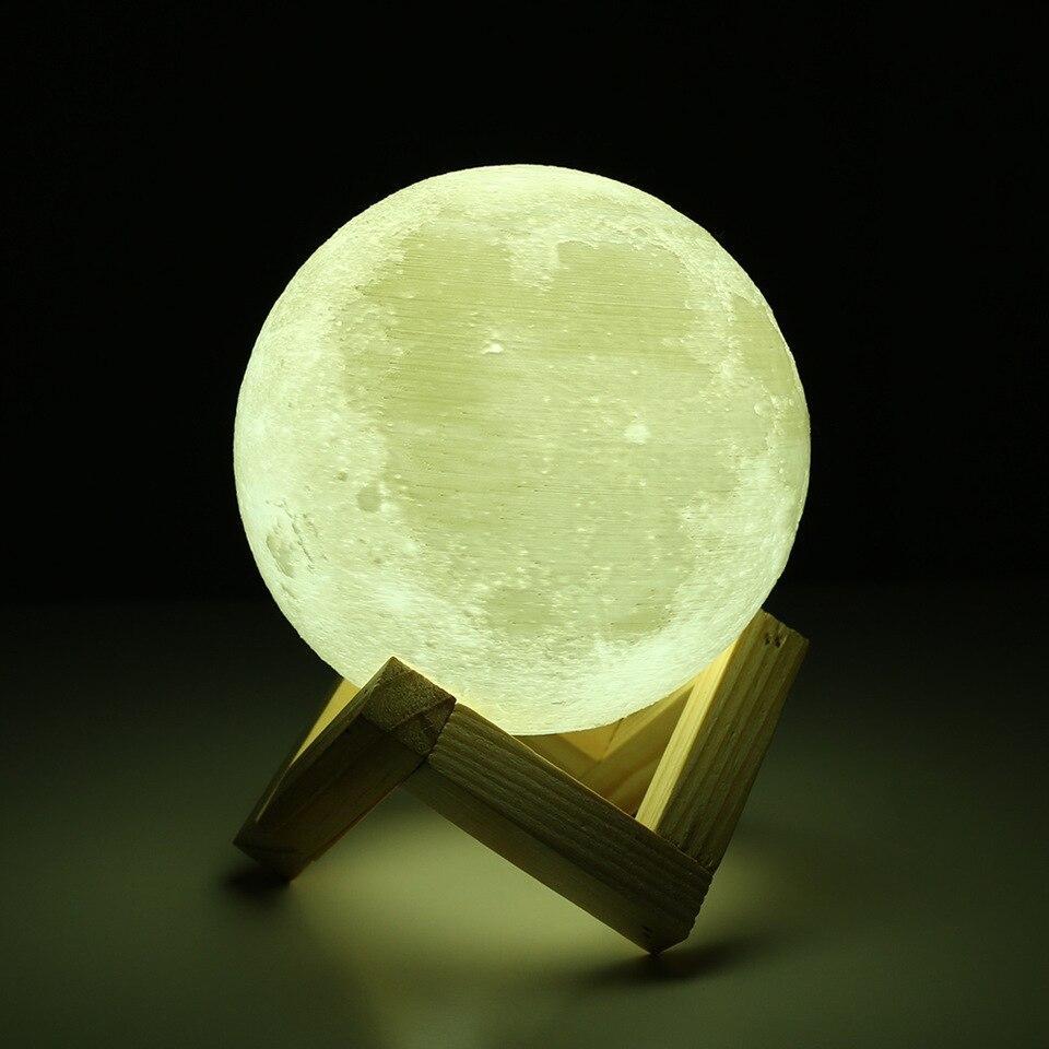 3d Mond Lampe