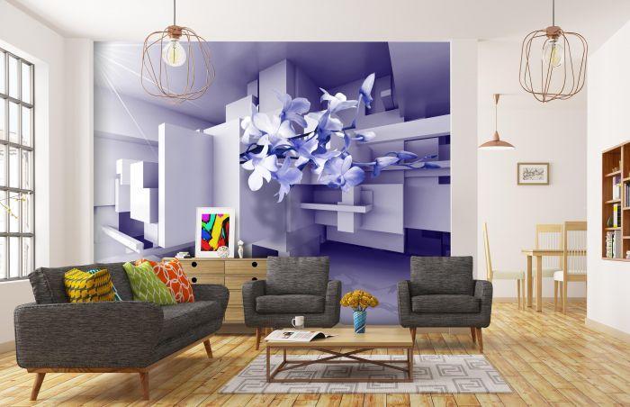 3d Wandbilder Wohnzimmer Mit Beleuchtung