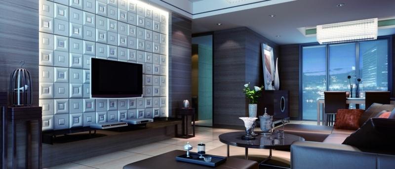3d Wandpaneele Wohnzimmer