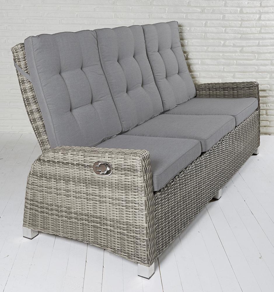 3er Lounge Sofa Garten