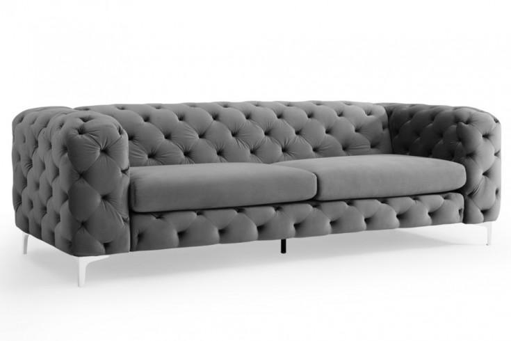3er Sofa Grau