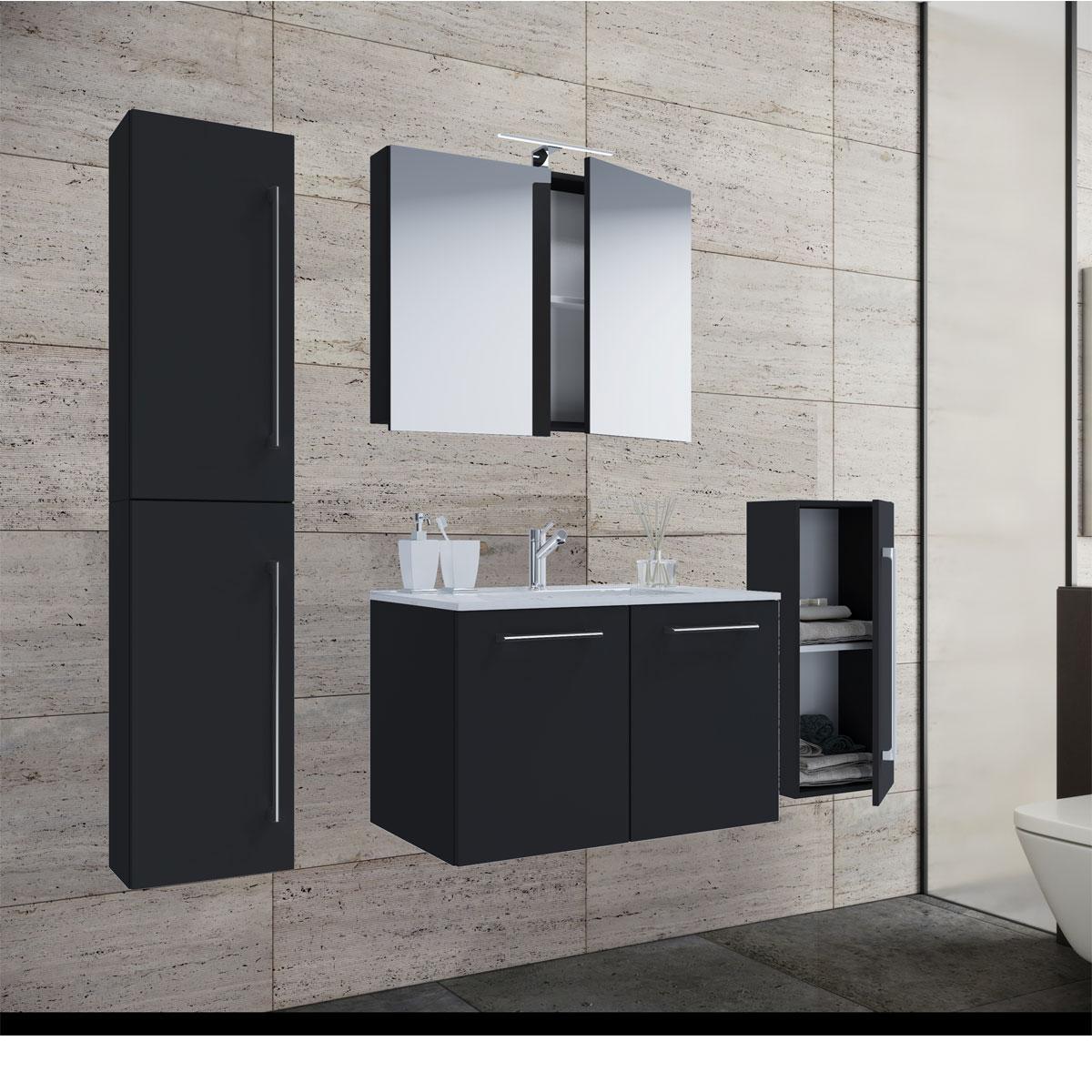 60 Cm Waschplatz Set