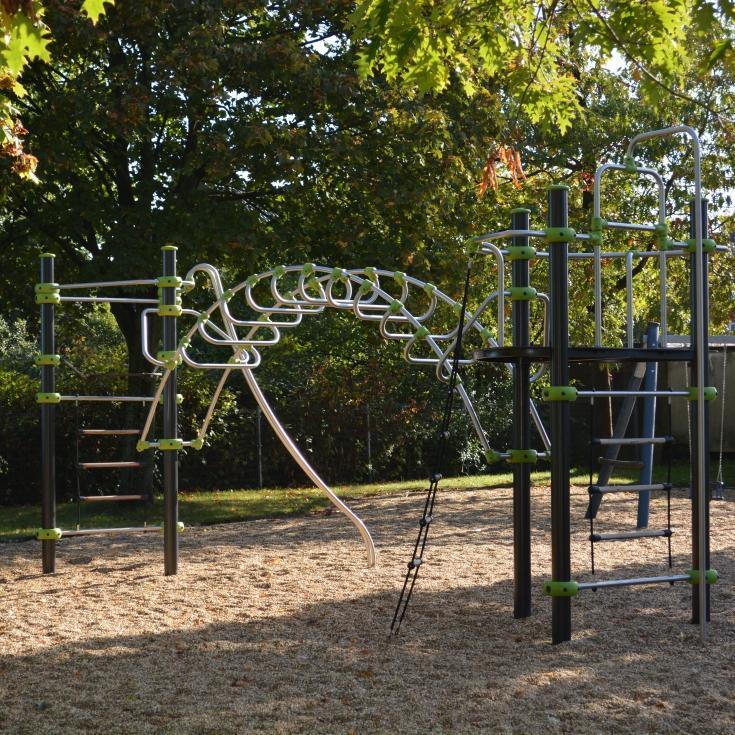 Abenteuerspielplatz Kinderspielplatz Garten