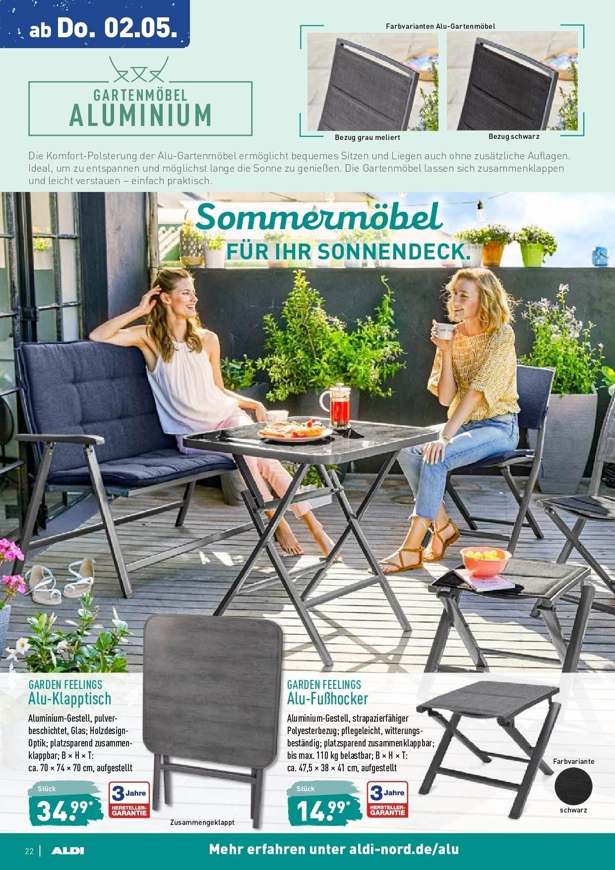Aldi Nord Gartenmöbel 2019