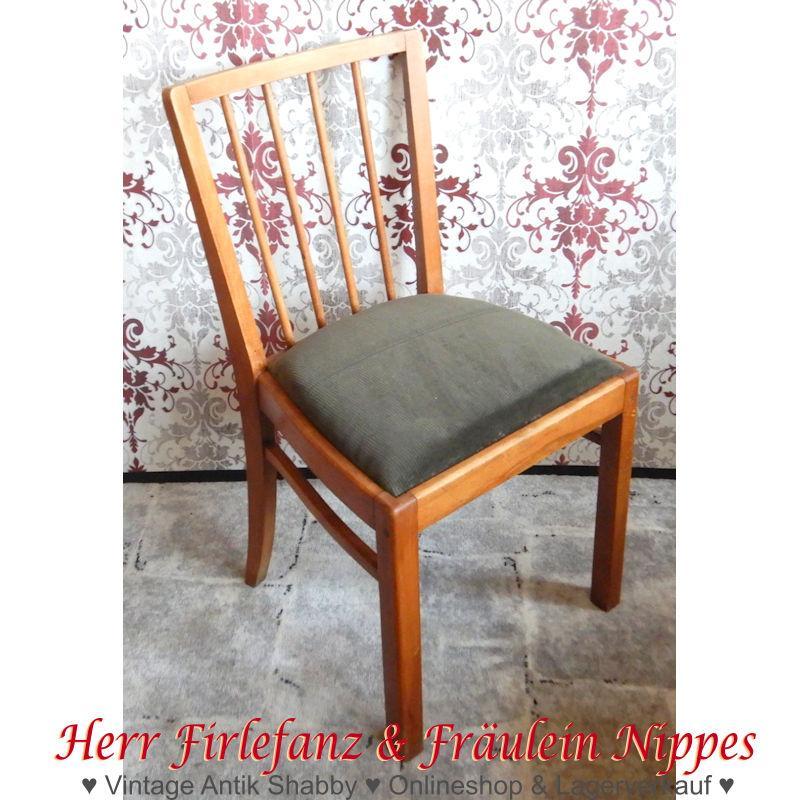 Alte Holzstühle Mit Polster