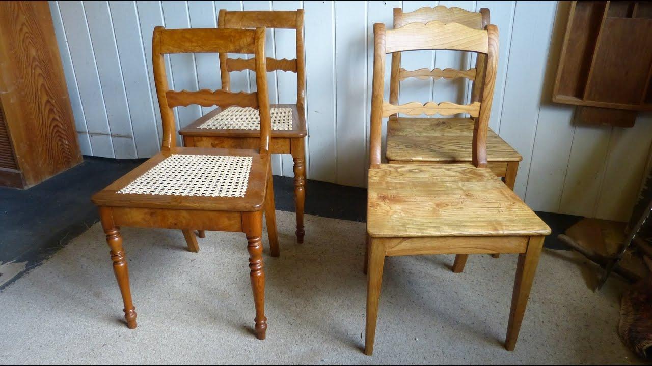 Alte Stühle Aufpeppen