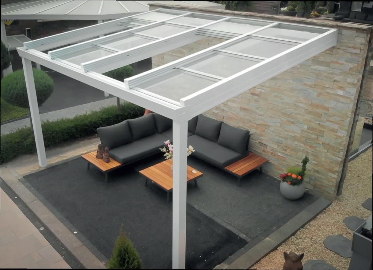 Alu Pavillon Terrassendach