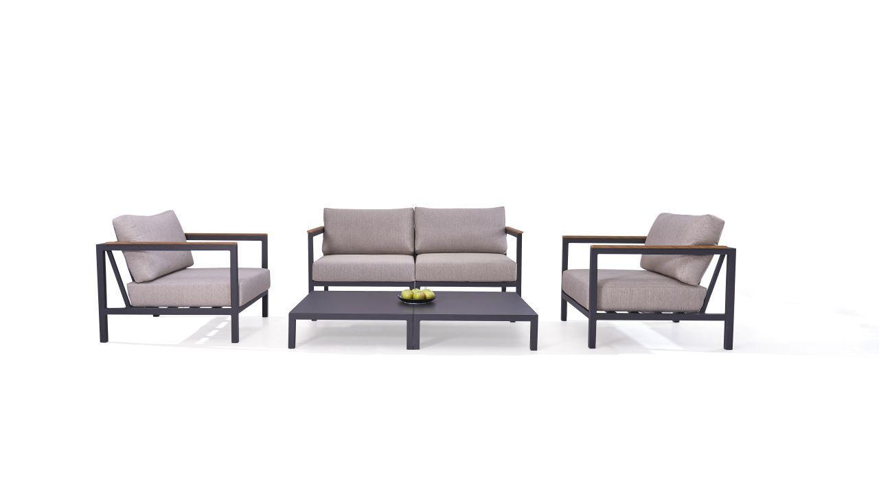 Aluminium Gartenmöbel Lounge