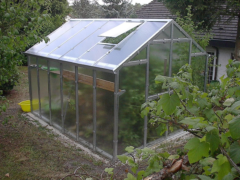 Amazon Gewächshaus Glas
