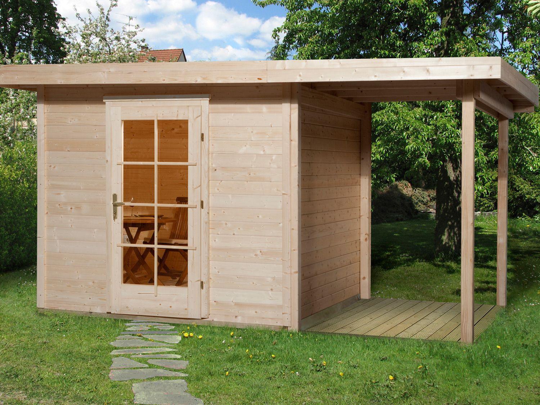 Anbau Gartenhaus Holz