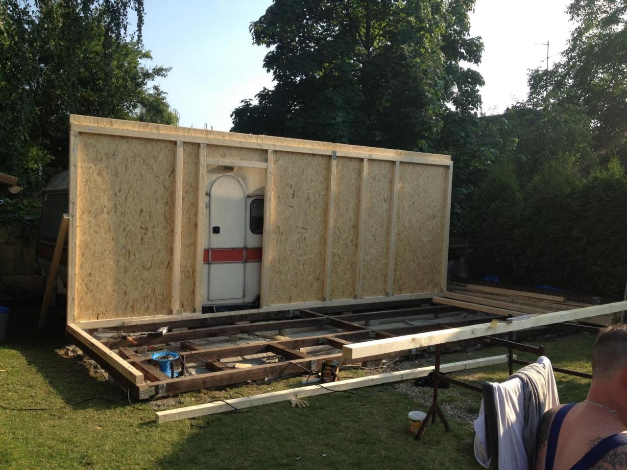 Anbau Gartenhaus Selber Bauen