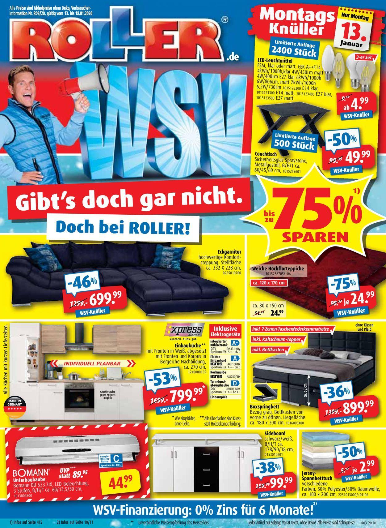 Angebote Roller Möbelhaus