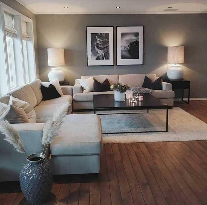 Anordnung Sofa Wohnzimmer