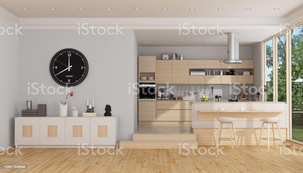 Anrichte Küche Holz