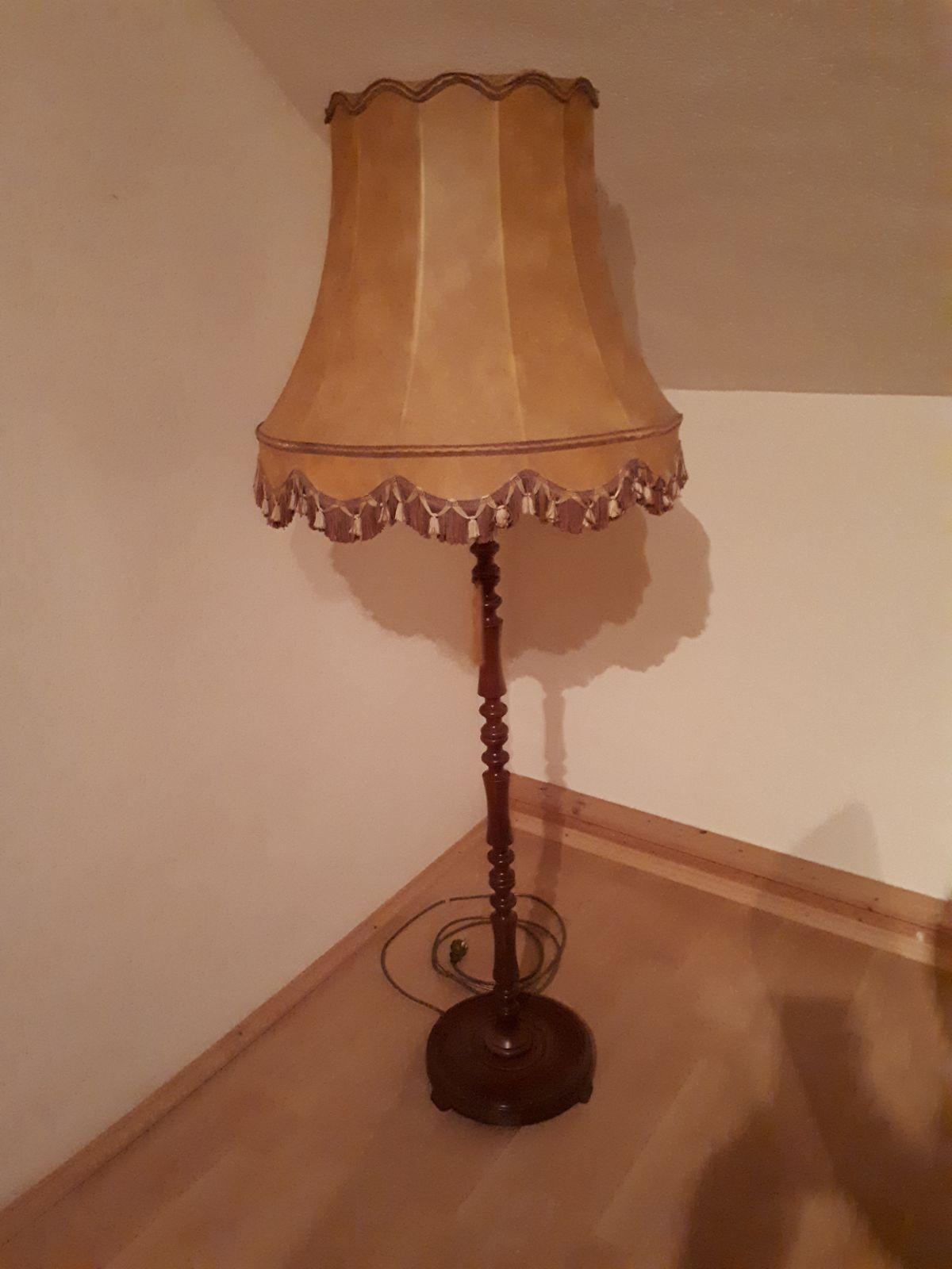 Antike Alte Stehlampe