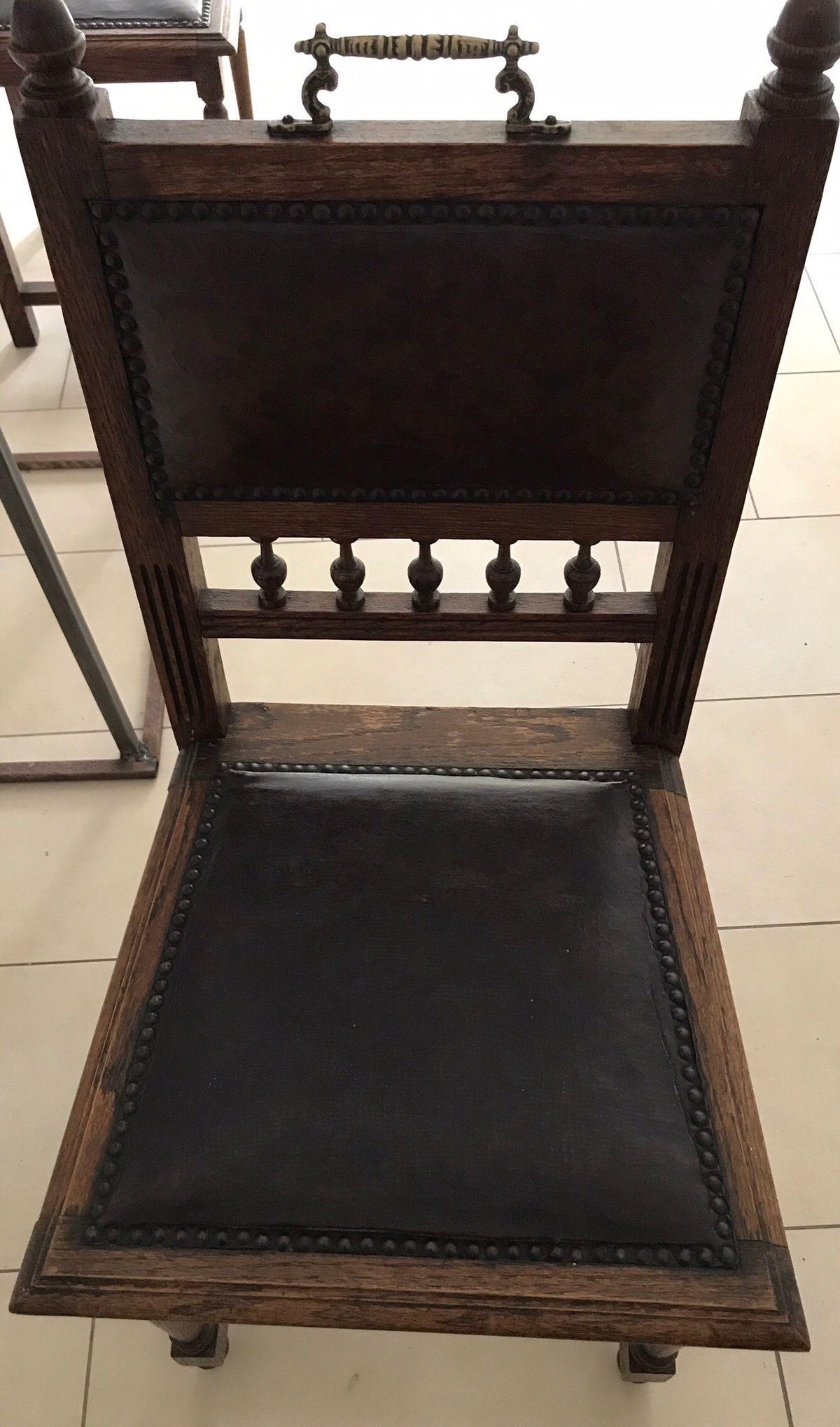 Antike Stühle Gründerzeit